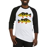 Butterfly Peacock Bass Baseball Jersey