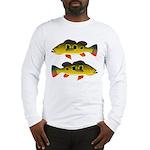 Butterfly Peacock Bass Long Sleeve T-Shirt