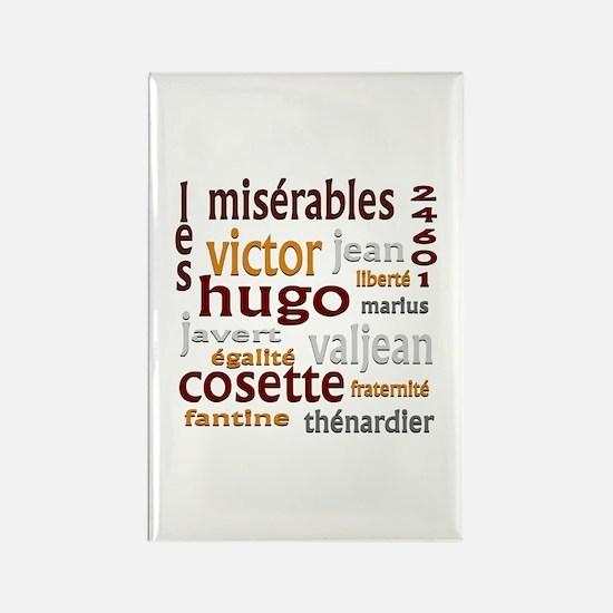 Les Miserables Rectangle Magnet
