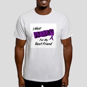 I Wear Purple For My Best Friend 8 Light T-Shirt