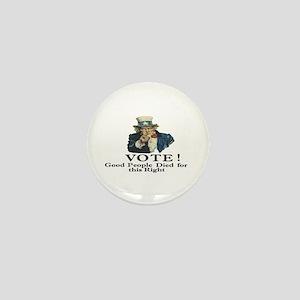Please Vote Mini Button