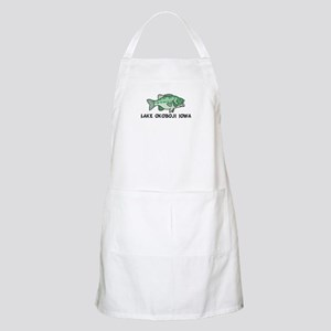 Lake Okoboji Iowa BBQ Apron