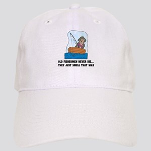 Old Fishermen Never Die Cap