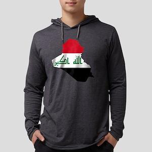 Iraq Map Long Sleeve T-Shirt