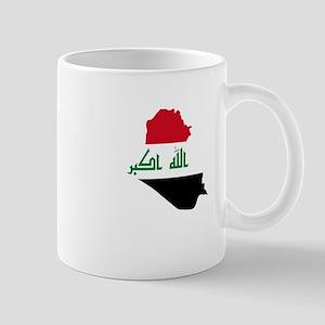 Iraq Map Mugs