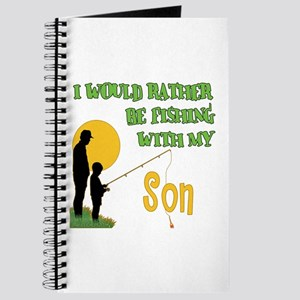 Fishing With Son Journal