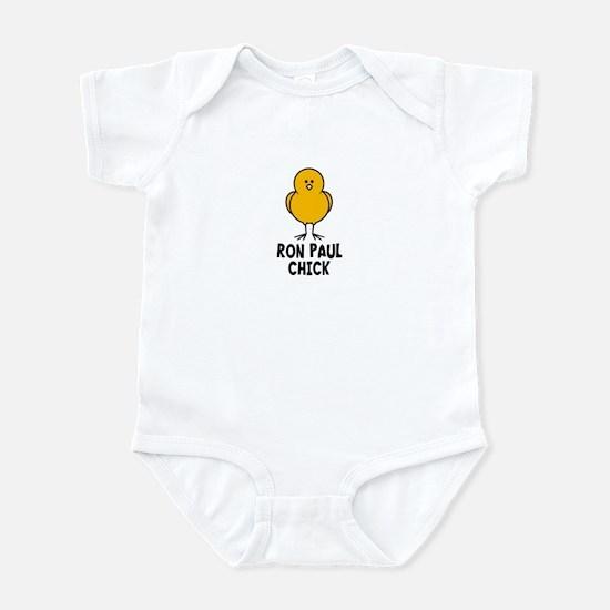 Ron Paul Chick Infant Bodysuit