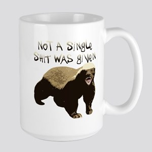 badger.png Stainless Steel Travel Mugs