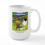 Crop Circles Explained Large Mug