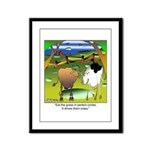 Crop Circles Explained Framed Panel Print