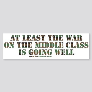 War On Middle Class Bumper Sticker