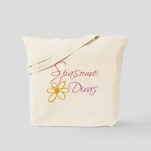 Spasome Divas Tote Bag