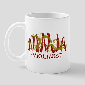 Dragon Ninja Violinist Mug