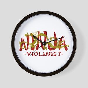 Dragon Ninja Violinist Wall Clock