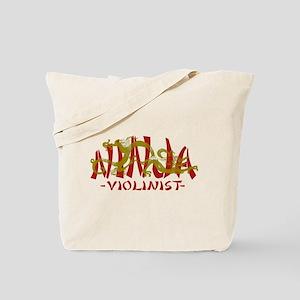 Dragon Ninja Violinist Tote Bag