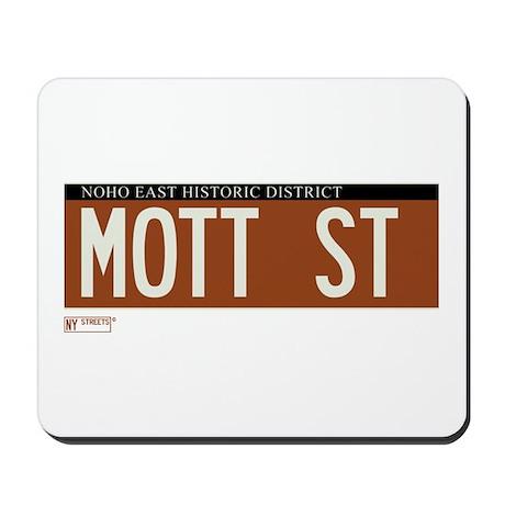 Mott Street in NY Mousepad