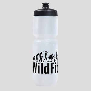 WildFit Logo Black Sports Bottle