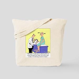 More Medical Tests Tote Bag