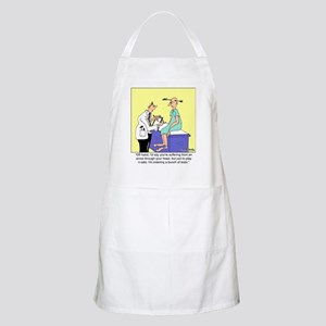 More Medical Tests BBQ Apron
