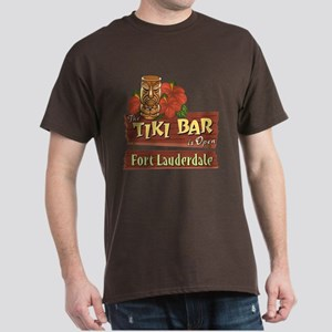 Ft. Lauderdale Tiki Bar - Dark T-Shirt