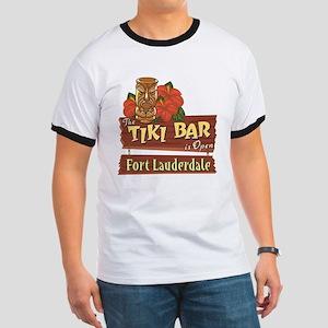 Ft. Lauderdale Tiki Bar - Ringer T