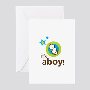 It's a Boy Shower Invite Greeting Cards (Pk of 20)