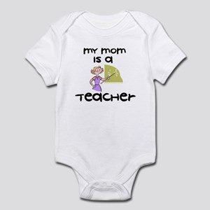Mom Is A Teacher - Infant Bodysuit