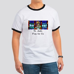 St. Jude Stained Glass Ringer T