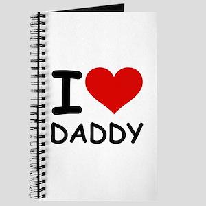 I LOVE DADDY Journal