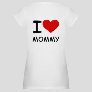I LOVE MOMMY Maternity T-Shirt