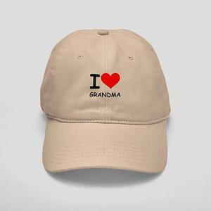 I LOVE GRANDMA Cap