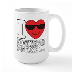 I Love Huntington Beach Mugs