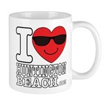 I Love Huntington Beach Mugs