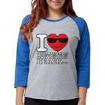 I Love Huntington Beach Long Sleeve T-Shirt