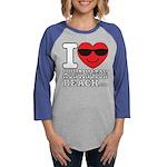 I Love Huntington Beach Long Sleeve T-Shirt