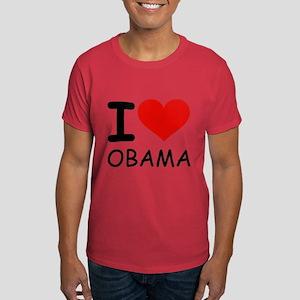I LOVE OBAMA Dark T-Shirt