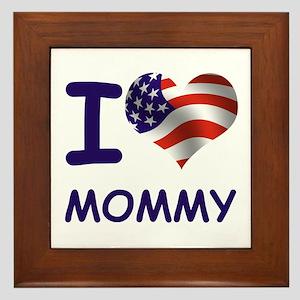 I LOVE MOMMY (USA) Framed Tile