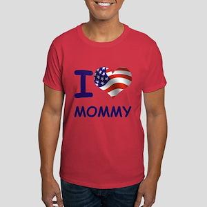 I LOVE MOMMY (USA) Dark T-Shirt