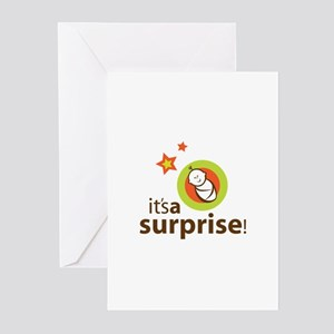 Surprise Shower Invite Greeting Cards (Pk of 20)