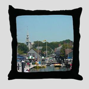 NNH Newport RI Throw Pillow