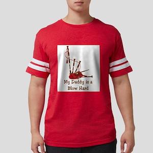 Bagpipesblowhard.TIF Mens Football Shirt