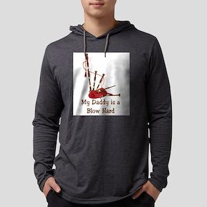 Bagpipesblowhard.TIF Mens Hooded Shirt