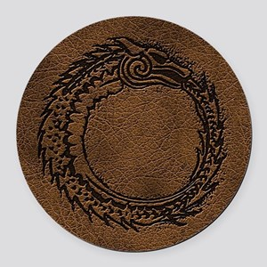 The Originals Serpent Symbol Round Car Magnet