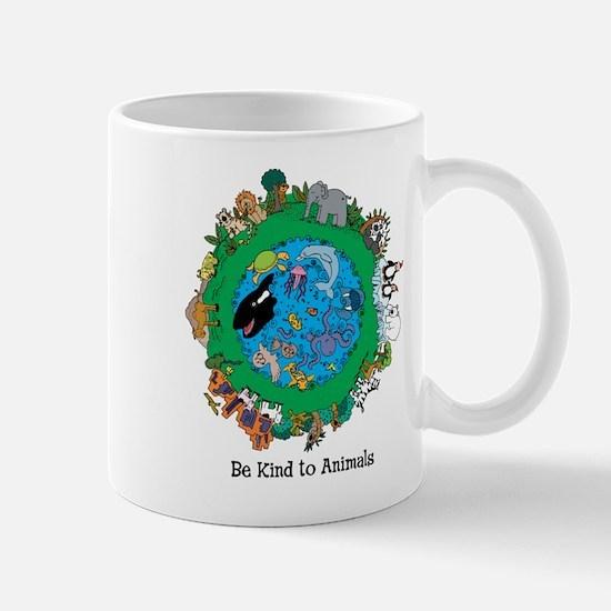 Be Kind to Animals Mug