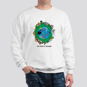 Be Kind to Animals Sweatshirt