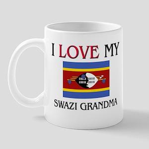 I Love My Swazi Grandma Mug