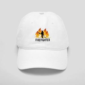 Firefighting Flames Cap