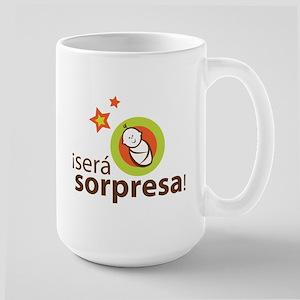 Sera sorpresa - Surprise Large Mug
