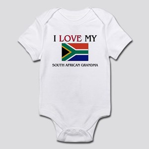 I Love My South African Grandma Infant Bodysuit
