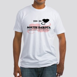 South Dakota Fitted T-Shirt